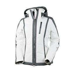 Obermeyer Cortina Womens Insulated Ski Jacket, White, 256