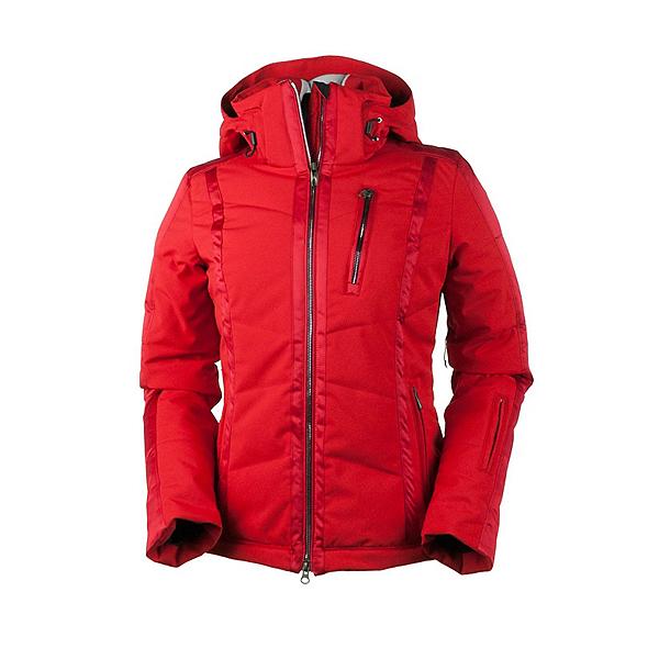Obermeyer Cortina Womens Insulated Ski Jacket, True Red, 600