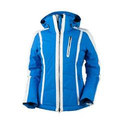 Obermeyer Cortina Womens Insulated Ski Jacket, Sonic Blue, 256