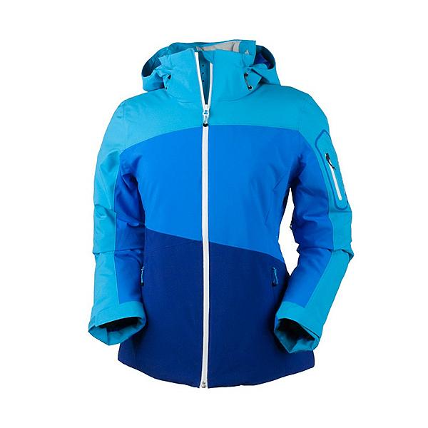 Obermeyer Luna Womens Insulated Ski Jacket, Azure, 600