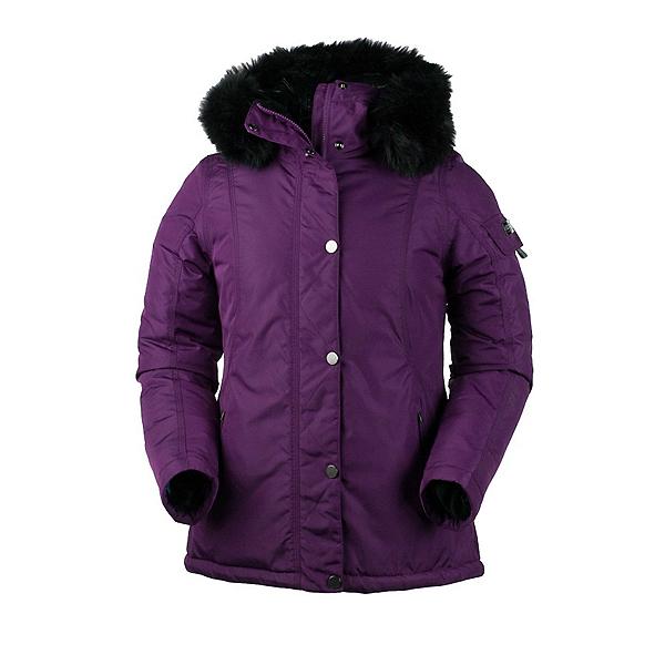 Obermeyer Payge w/Faux Fur Womens Jacket, Sangria, 600