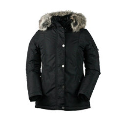 Obermeyer Payge w/Faux Fur Womens Jacket, Black, 256