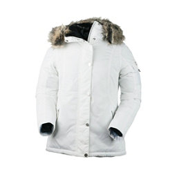 Obermeyer Payge w/Faux Fur Womens Jacket, White, 256