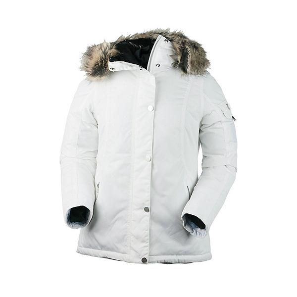 Obermeyer Payge w/Faux Fur Womens Jacket, White, 600