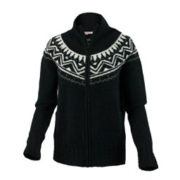 Obermeyer Women's Frances Knit Cardigan, Black, 256