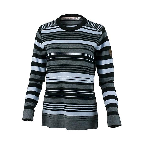 Obermeyer Fiona Stripe Knit Crew Womens Sweater, , 600