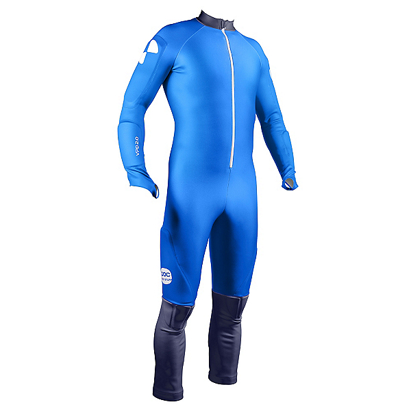 POC Skin GS Race Suit, Terbium Blue-Nickel Blue, 600