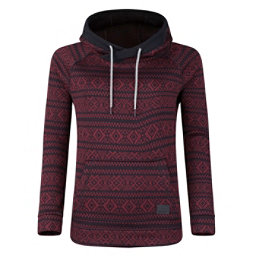 O'Neill Blaze Fleece Womens Hoodie, Red Aop, 256