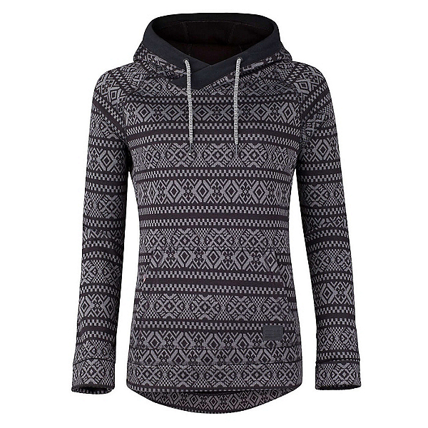 O'Neill Blaze Fleece Womens Hoodie, Grey Aop, 600