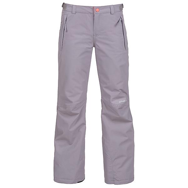 O'Neill Charm Girls Snowboard Pants, Siberian Grey, 600