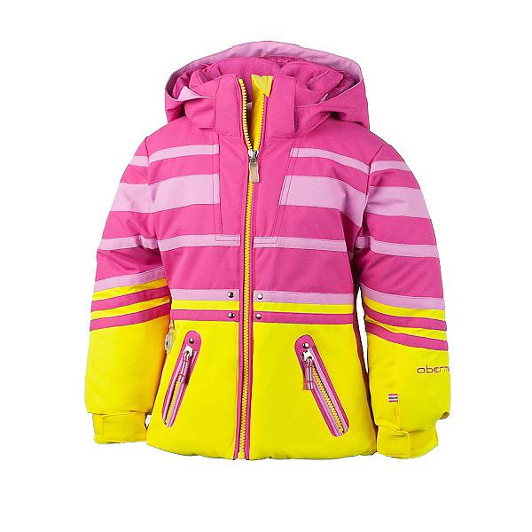 Obermeyer Sundown Toddler Girls Ski Jacket, Lemon, 600