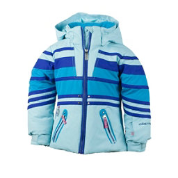 Obermeyer Sundown Toddler Girls Ski Jacket, Bluet, 256