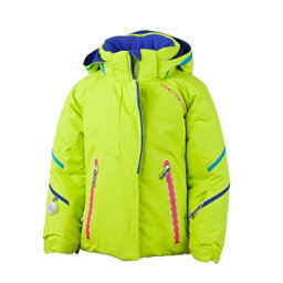 Obermeyer Brier Toddler Girls Ski Jacket, Lime, 256