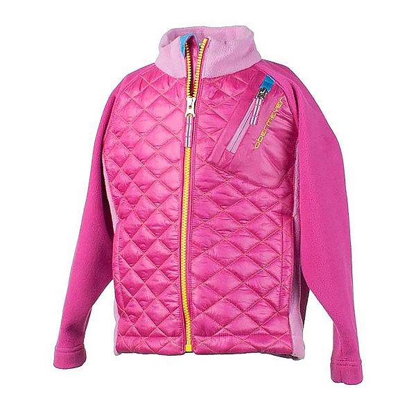 Obermeyer Supercross Hybrid Toddler Girls Jacket, Wild Pink, 600