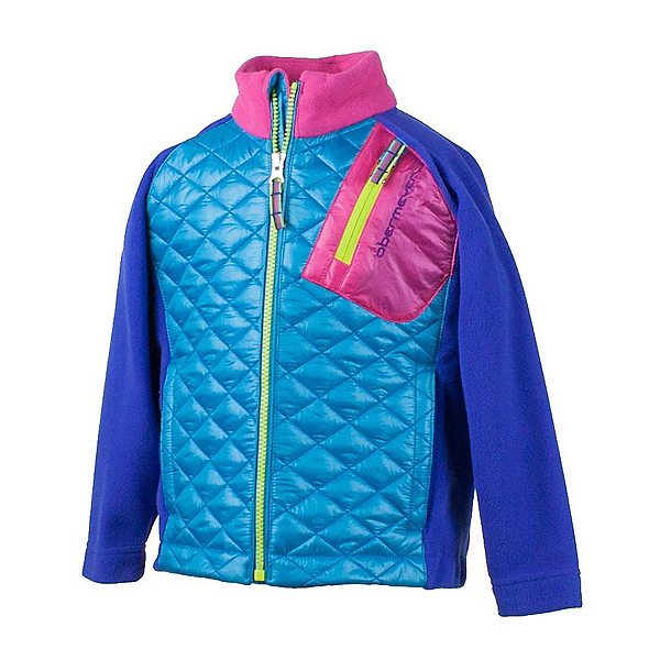 Obermeyer Supercross Hybrid Toddler Girls Jacket, Regal Blue, 600