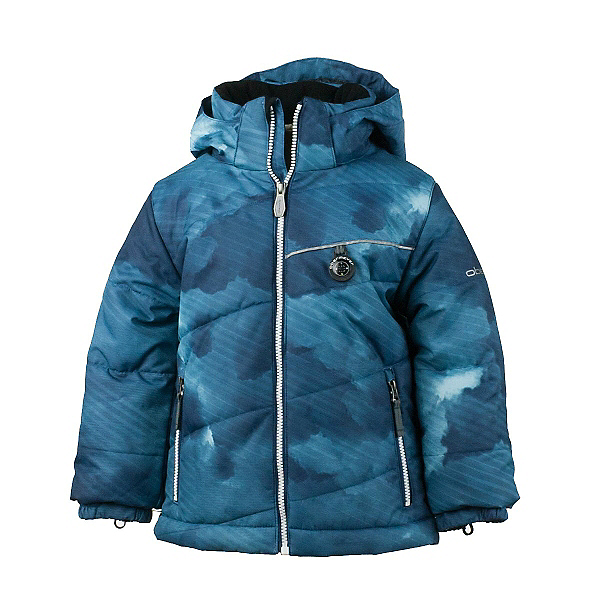 Obermeyer Strato Toddler Boys Ski Jacket, Squall Print, 600