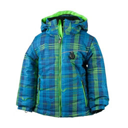Obermeyer Strato Toddler Boys Ski Jacket, Electric Ave Print, 256