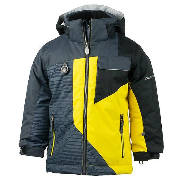 Obermeyer Ambush Toddler Boys Ski Jacket, Cyber Yellow, 600