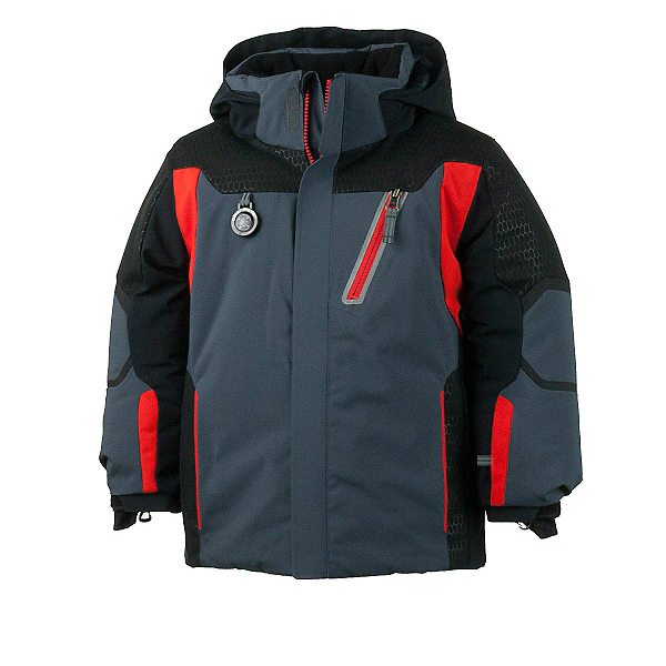 Obermeyer Raider Toddler Boys Ski Jacket, Ebony, 600