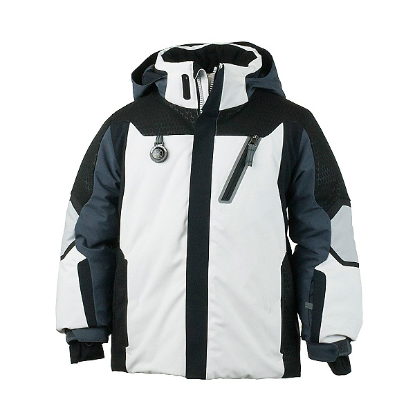 Obermeyer Raider Toddler Boys Ski Jacket, Black, 600