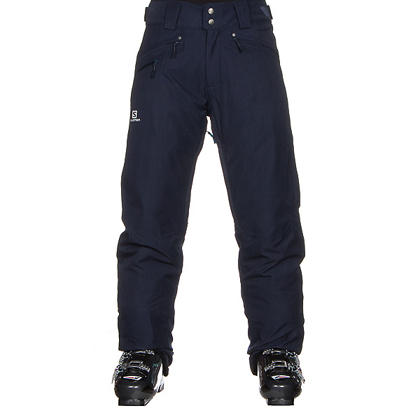 Salomon Fantasy Mens Ski Pants, Big Blue X, 600