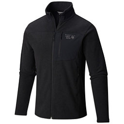 Mountain Hardwear Toasty Twill Mens Jacket, Black-Titanium, 256