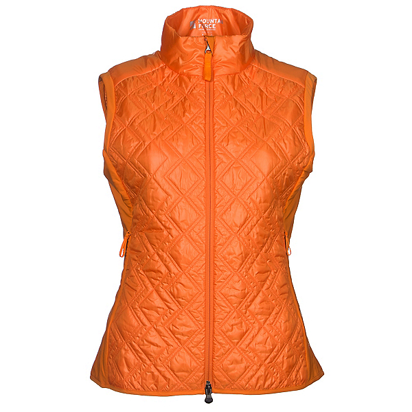Mountain Force Insulation Womens Vest, Orange, 600