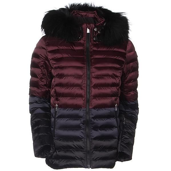 Toni Sailer Margot Splendid Fur Womens Insulated Ski Jacket, Redcurrant, 600