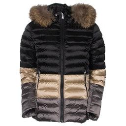 Toni Sailer Margot Splendid Fur Womens Insulated Ski Jacket, Light Sand, 256