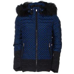 Toni Sailer Margot Print Fur Womens Insulated Ski Jacket, Yves Blue, 256