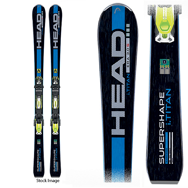 Used Head Supershape Titan DEMO Skis, , 600