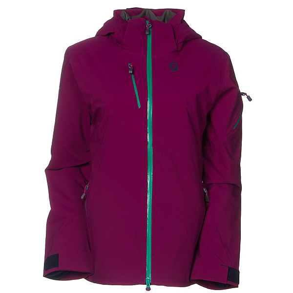 Scott Ultimate DRX Womens Insulated Ski Jacket, Magenta Purple, 600