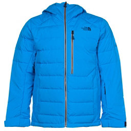 The North Face Point It Down Hybrid Mens Insulated Ski Jacket (Previous Season), Blue Aster, 256