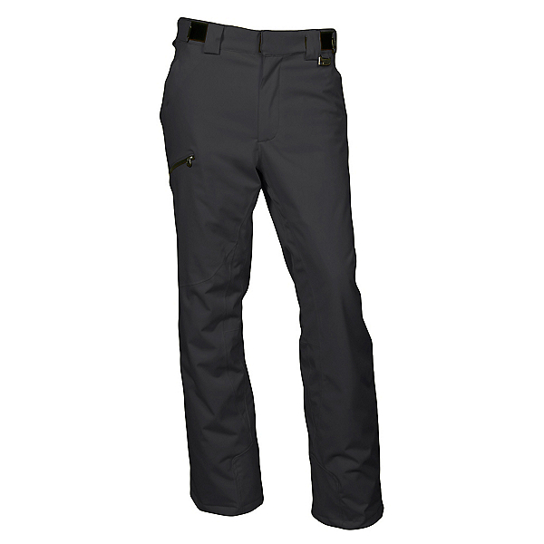 Karbon Silver Pant Short Mens Ski Pants, Black-Black, 600