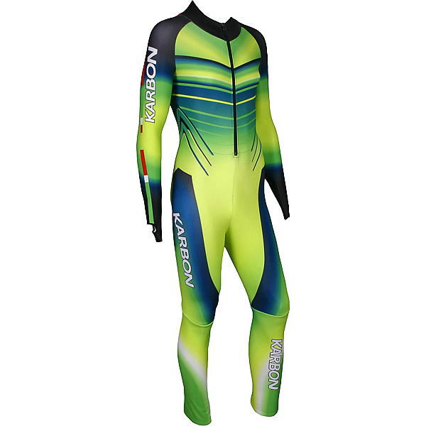 Karbon Pinnacle GS Suit, Electric Green-Neon Lime-Navy-, 600