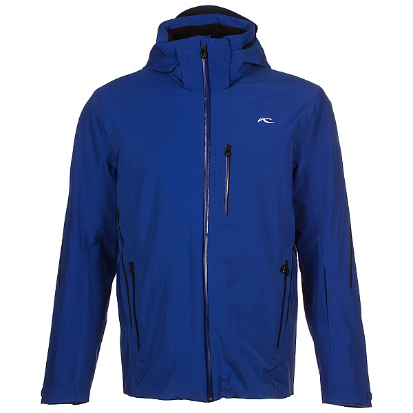 KJUS Formula Mens Insulated Ski Jacket, Alaska-Atlanta Blue, 600