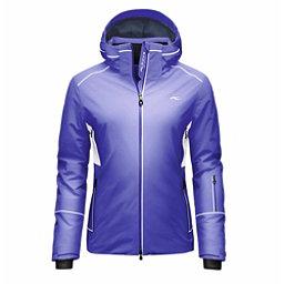 KJUS Formula Womens Insulated Ski Jacket, Lotus Blue-White, 256