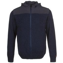 KJUS Vail Jacket Mens Mid Layer, Atlanta Blue, 256