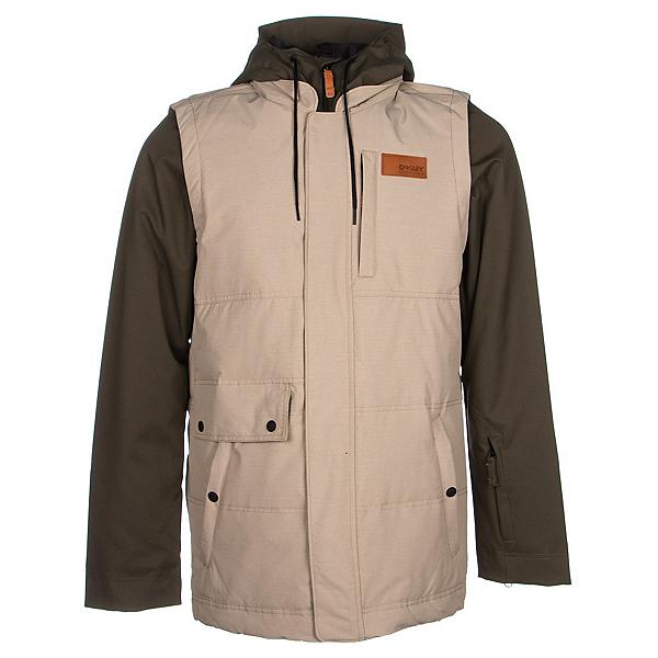 Oakley Lowball BioZone Down Mens Insulated Snowboard Jacket, , 600