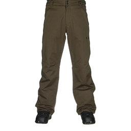 Oakley Fleet 2 BioZone Insulated Mens Snowboard Pants, Herb, 256