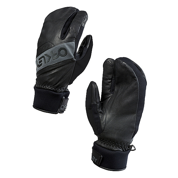 Oakley Winter Trigger 2 Mittens, Jet Black, 600