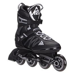 K2 F.I.T. 80 Inline Skates 2017, Black-Silver, 256