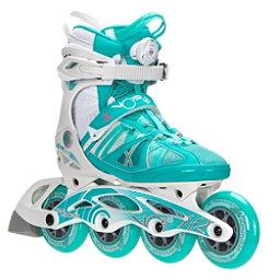 K2 VO2 90 Boa Womens Inline Skates, Turquoise-White, 256