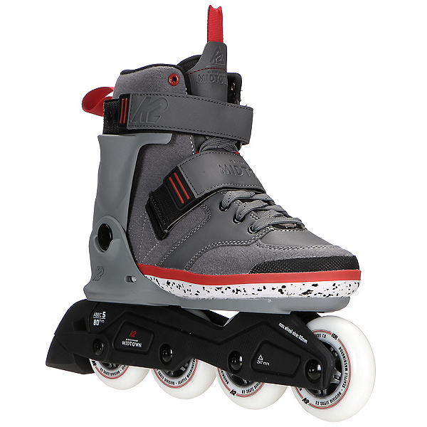 K2 Midtown Urban Inline Skates, Gray, 600