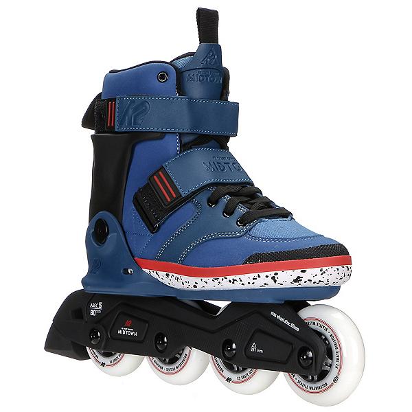 K2 Midtown Urban Inline Skates, Blue, 600