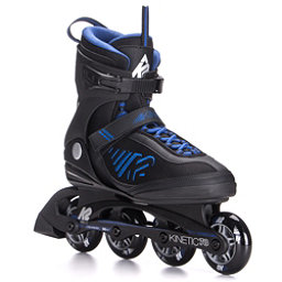 K2 Kinetic 78 Inline Skates 2017, Black-Blue, 256