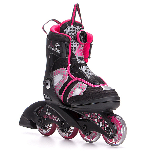 K2 Charm X Boa Adjustable Girls Inline Skates, , 600