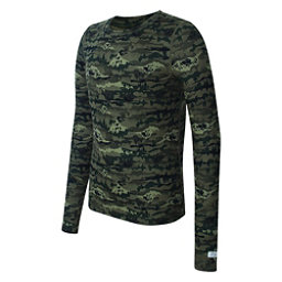 acb0be409c8038 Terramar 2.0 Thermolator Crew Kids Long Underwear Top, Range Print, 256