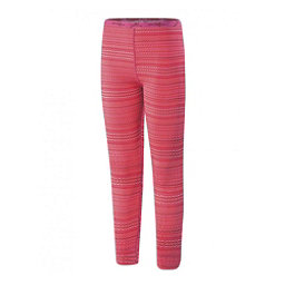 Terramar 2.0 Thermolator Girls Long Underwear Bottom, Poppy Rick Rack, 256