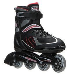 Bladerunner Pro 80 Inline Skates, Black-Red, 256